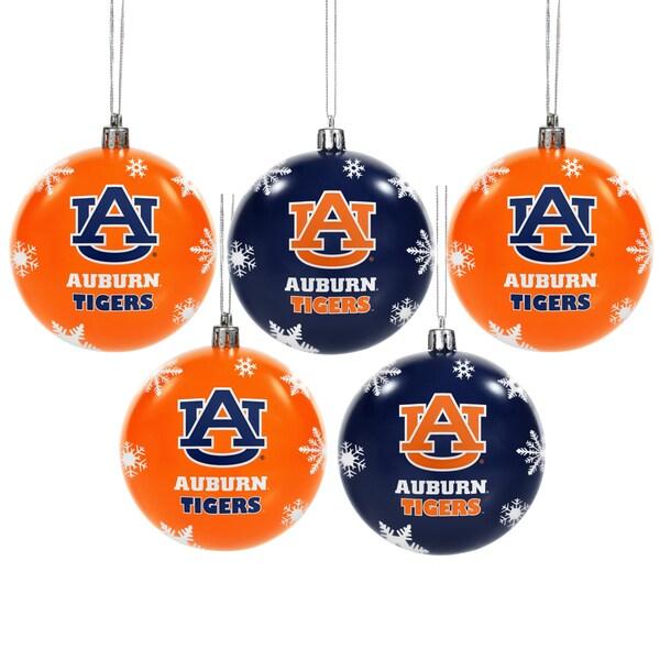 Auburn Tigers 2016 NCAA Shatterproof Ball Ornaments