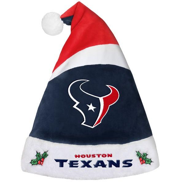 Houston Texans NFL 2016 Santa Hat