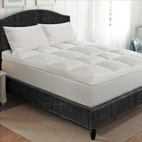 Super Snooze 5 Inch 230 Thread Count Baffled Featherbed