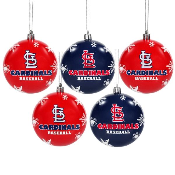 St Louis Cardinals 2016 MLB Shatterproof Ball Ornaments