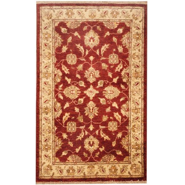 Shop Handmade Herat Oriental Afghan Tribal Oushak Wool Rug