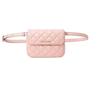Michael Kors Blossom Sloan Small Quilted-Leather Belt Bag