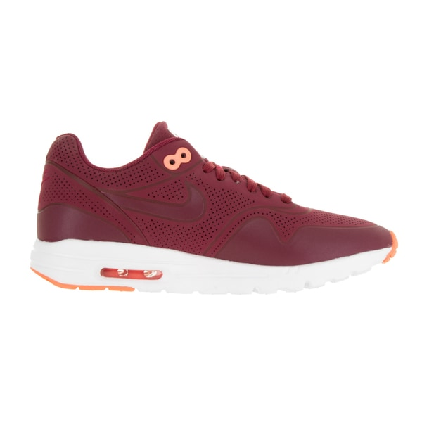 Shop Nike Women's Air Max 1 Ultra Moire Noble Red Synthetic