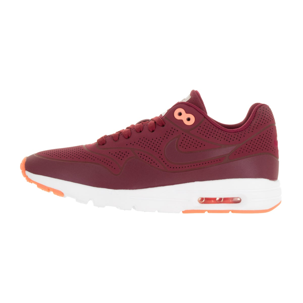 Nike Women's Air Max 1 Ultra Moire Noble Red Synthetic Running Shoes