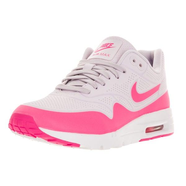 new styles cbd39 0ac22 Nike Women  x27 s Air Max 1 Ultra Moire Bleached Lilac Pink Blast