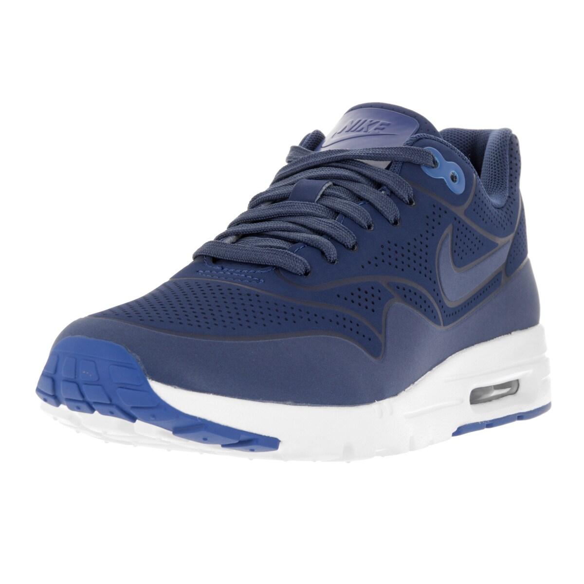 Nike Women's Air Max 1 Ultra Moire Blue Plastic Running S...