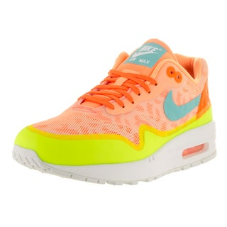 Nike Women's Air Max 1 NS Peach Cream/Hypr Turq/Ttl Orng Running Shoe