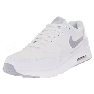 Nike Women's Air Max 1 Ultra Essentials White/Wlf Gry/Pr Pltnm/Mtllc S Running Shoe
