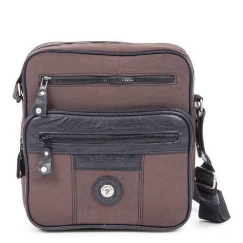 Mouflon Feathers Synthetic/Nylon IDB Handbag