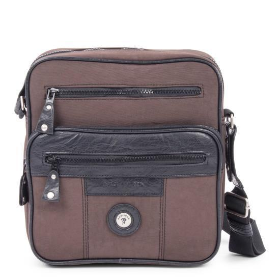 Shop Mouflon Feathers Synthetic Nylon IDB Handbag - Free Shipping On Orders  Over  45 - Overstock - 13343916 3521b6fb36949