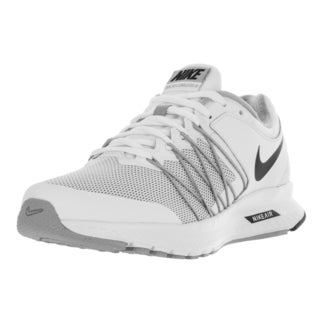 Nike Women's Air Relentless 6 White, Black, and Wolf Grey Synthetic Running Shoes