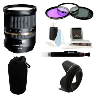 Tamron SP 24-70mm f/2.8 Di USD Lens for Sony Alpha Bundle