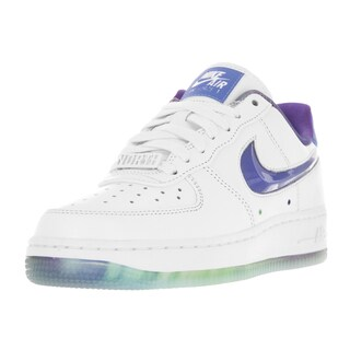 Nike Women's Air Force 1 White/Bluecap Basketball Shoe