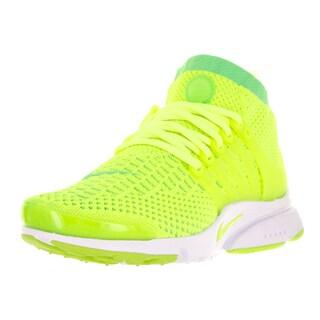 Nike Women's Air Presto Flyknit Green Fabric Running Shoe