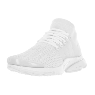 Nike Women's Air Presto Flyknit Ultra White/White Fabric Running Shoe