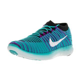 Nike Women's Free RN Motion Flyknit Gamma Hyperr Volt Running Shoe