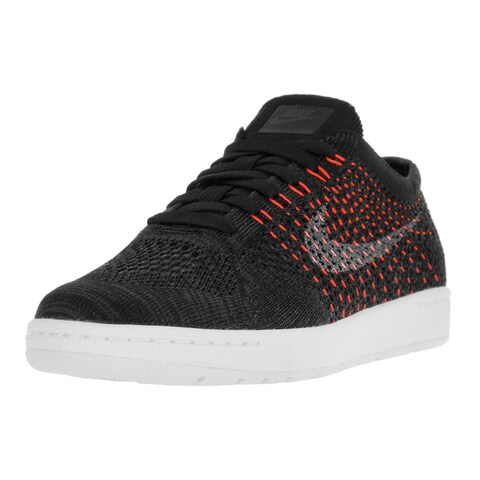 Nike Women's Tennis Classic Ultra Flyknit Black/White/Anthracite Tennis Shoes