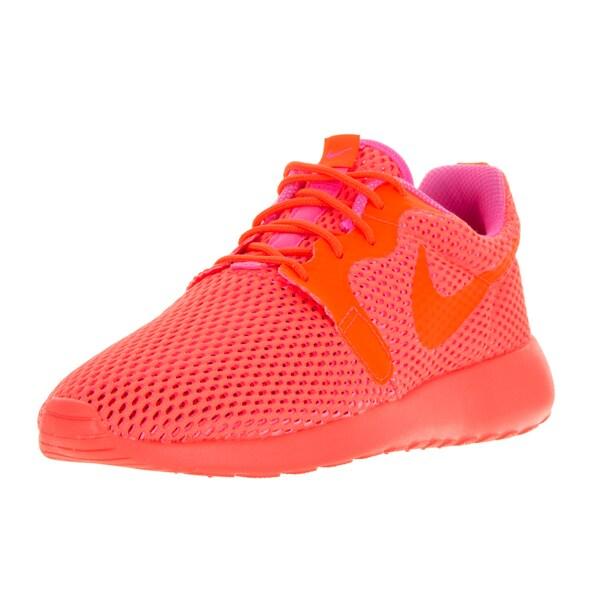 b7d904066cc7 Nike Women  x27 s Roshe One Hyperfuse Orange Plastic Mesh Running Shoe