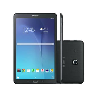 Refurbished Black Samsung Galaxy Tab E (16GB/Wi-Fi/4G/LTE) (9.6-Inch Screen) (Verizon)