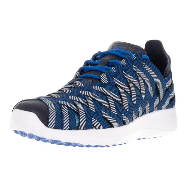 Shop Nike Women s Juvenate Woven PRM Blue Spark Black Tint Obsidian ... fb3d33dd14