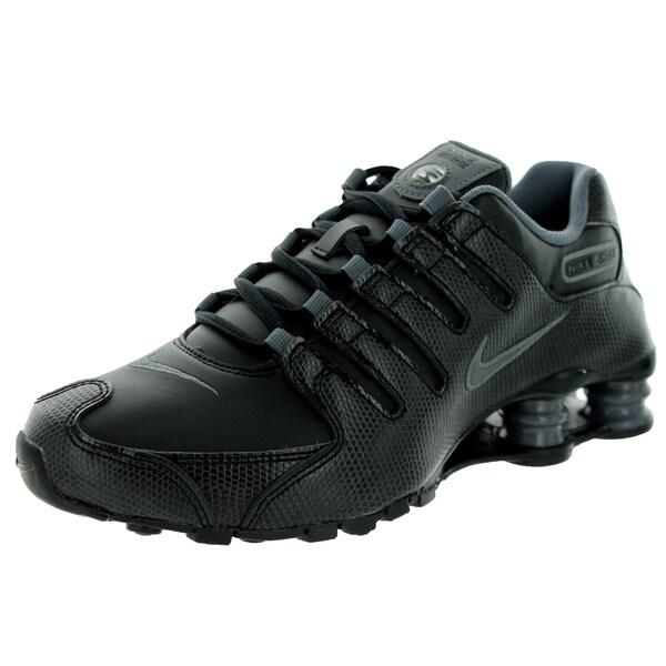 Nike Hommes Shox Nz Gris Chaussure De Mode / Rideaux Noirs hyper en ligne xguf4q