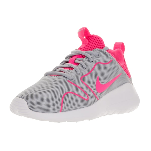 uk availability 4a4b4 20304 Nike Women  x27 s Kaishi 2.0 Grey and Pink Running Shoes