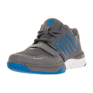 K-Swiss Women's X Court Charcoal and Blue Plastic Casual Shoes