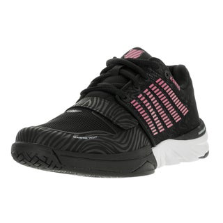 K-Swiss Women's X Court Black/Shocking Pink Casual Shoes