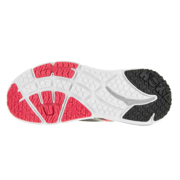 Shop Hoka One One Women S W Bondi 4 Grey Teaberry Running