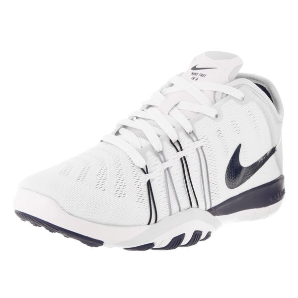 Nike Women's Free TR 6 White and Navy Training Shoe