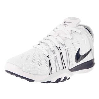Nike Women's Free TR 6 White and Navy Training Shoe