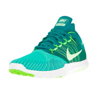 Nike Women's Flex Adapt Tr Green and White Textile Training Shoes