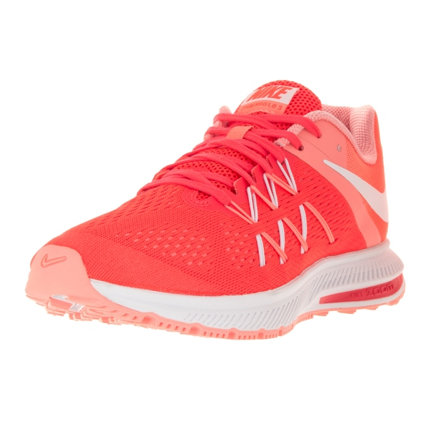 the latest 7ce5c acacd Shop Nike Women's Zoom Winflo 3' Orange Plastic Running Shoe ...