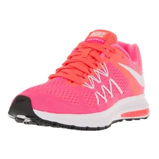 Nike Women's Zoom Winflo 3 Pink Fabric Running Shoes