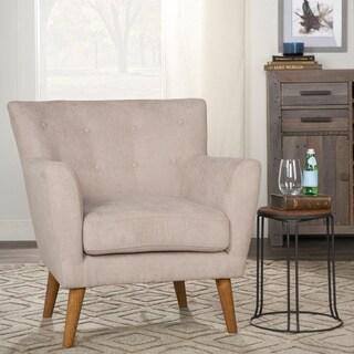 Kosas Home Chasen Grey Fabric Club Chair