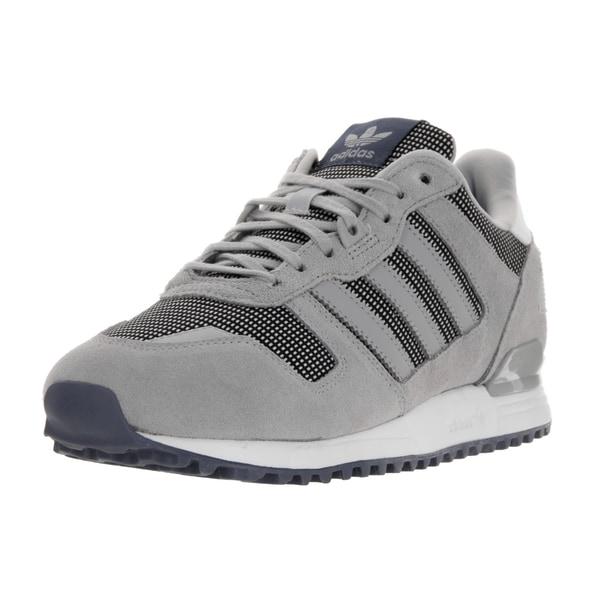 ff0a1478c8eec6 Shop Adidas Women s ZX 700 W Originals Grey Suede Running Shoe ...