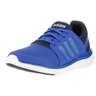 Adidas Women's Cloudfoam Xpression Blue Plastic Running Shoes