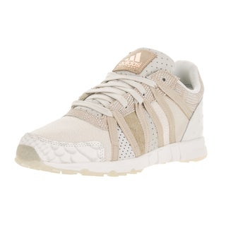 Adidas Women's Equipment Racing White and Brown Leather Running Shoes