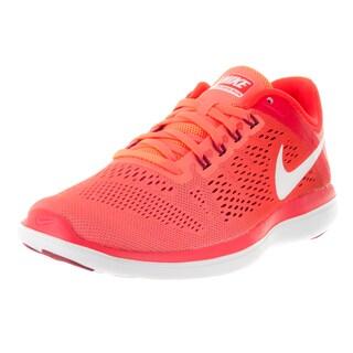 Nike Women's 'Flex' Orange Plastic Running Shoe