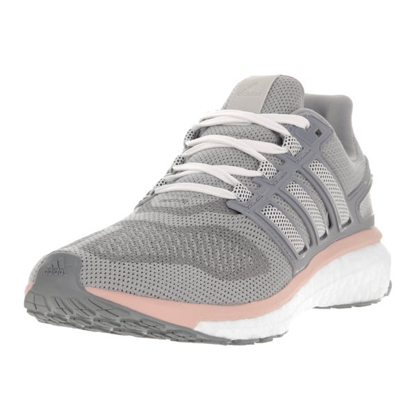 e6569b908ad7 Shop Adidas Women s Energy Boost 3 M Grey Plastic Running Shoes ...