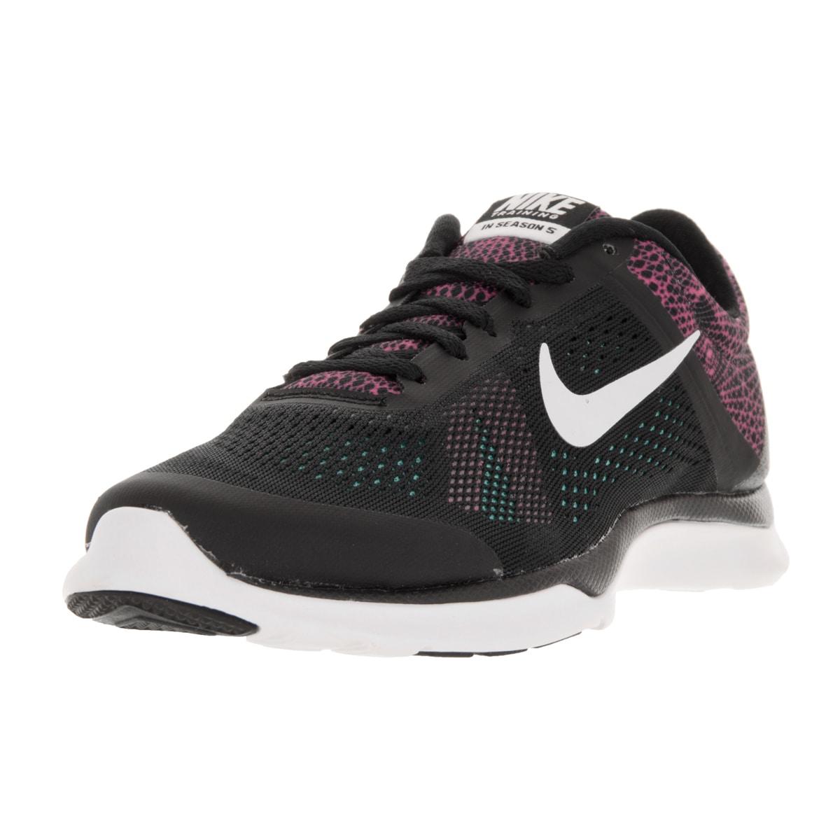 Nike Women's In-Season TR 5 Black Textile Training Shoe (...