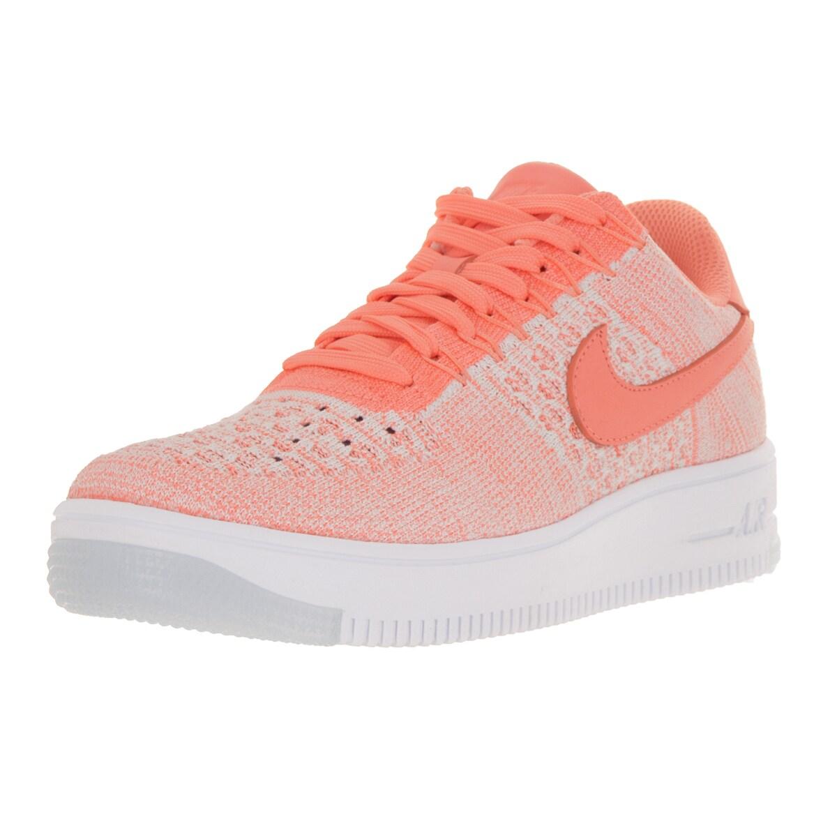 Nike Women's AF1 Flyknit Low Atomic Pink Casual Shoe (7),...