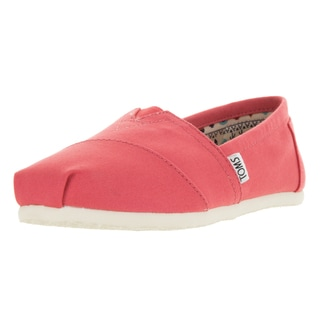 Toms Women's Classic Spiced Coral Canvas Casual Shoes