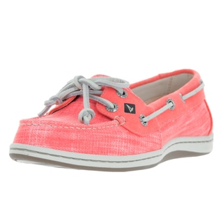 Sperry Top-Sider Women's Firefish Pink Ripstop Canvas Boat Shoe