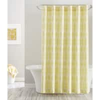 Pointehaven Bright Print Shower Curtains 72 x 72