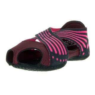 Nike Women's Studio Wrap 4 Night Maroon/Pink Blast Black Dance Shoe