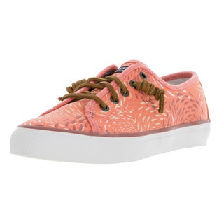 Sperry Top-sider Women's Seacoast Fish Circle Coral Orange Casual Shoes