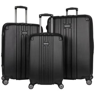 "Kenneth Cole Reaction ""Reverb"" 3-Piece Expandable Hardside 8-Wheel Spinner Luggage Set