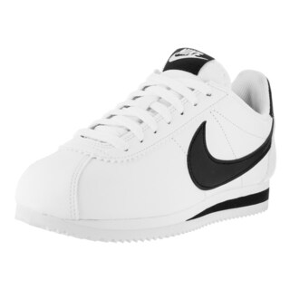 Nike Women's Classic Cortez Leather White/Black Casual Shoe