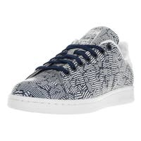 Adidas Women's Stan SmithBlue Leather Casual Shoe